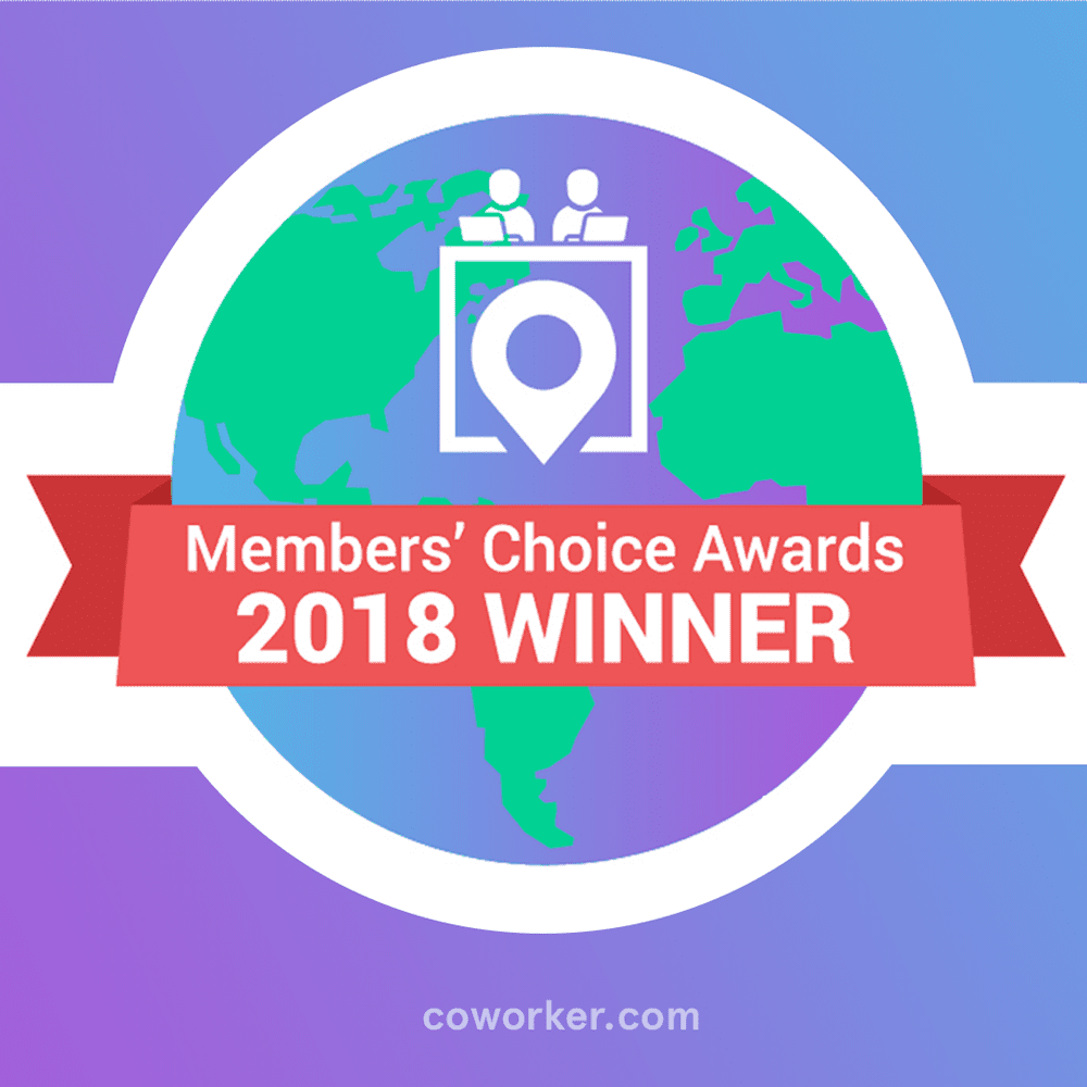CoMotion on King Wins 2018 Coworker Members' Choice for Hamilton!